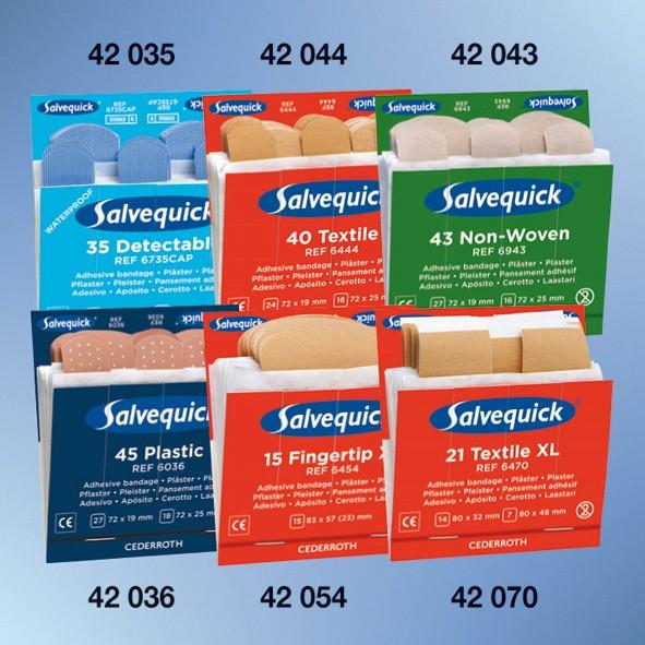 Salvequick® Nachfülleinsätze, Pflasterstrips