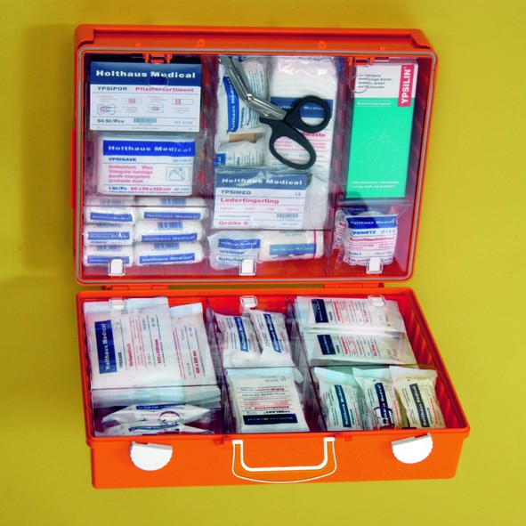 Erste-Hilfe-Koffer MULTI, leer