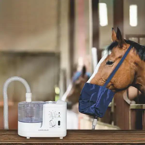 Ultraschall-Inhalator für Pferde