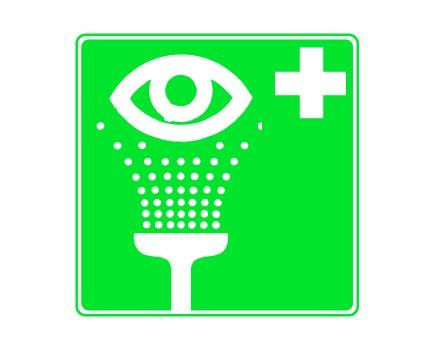 Rettungszeichen Augenspüleinrichtung