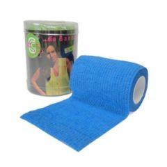 Selbsthaftende-elastische-Fixierbinde-75-Blue