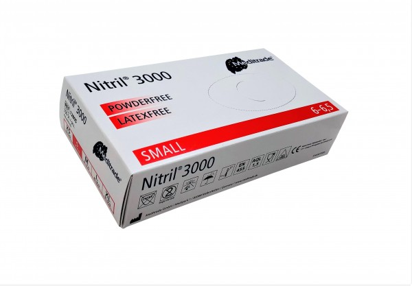 Nitrilhandschuhe S - Nitril 3000 Meditrade