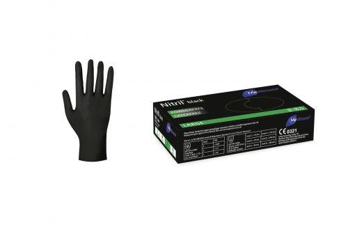 Nitril-Black-Handschuhe