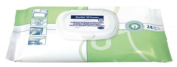 Bacillol® 30 Tissues, 24 Tücher