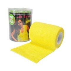 Selbsthaftende-elastische-Fixierbinde-75-Yellow
