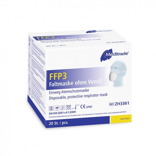 FFP3 Masken ohne Ventil