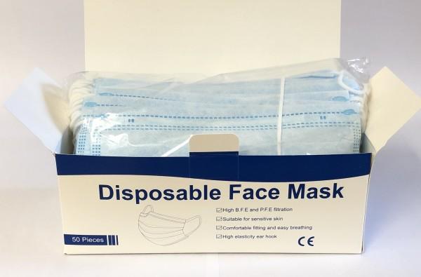Einmal-Mund- und Nasenmaske