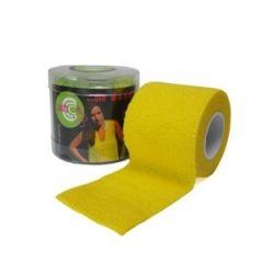 Selbsthaftende-elastische-Fixierbinde-50-Yellow