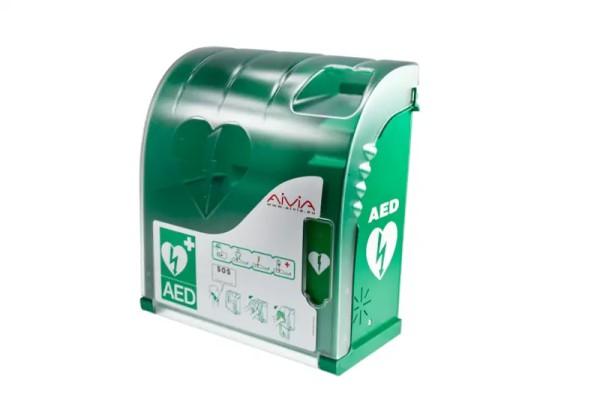 Wandkasten für Defibrillator